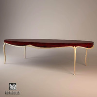 christopher guy dining table 3d max
