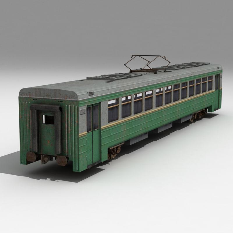 electric train wagon max