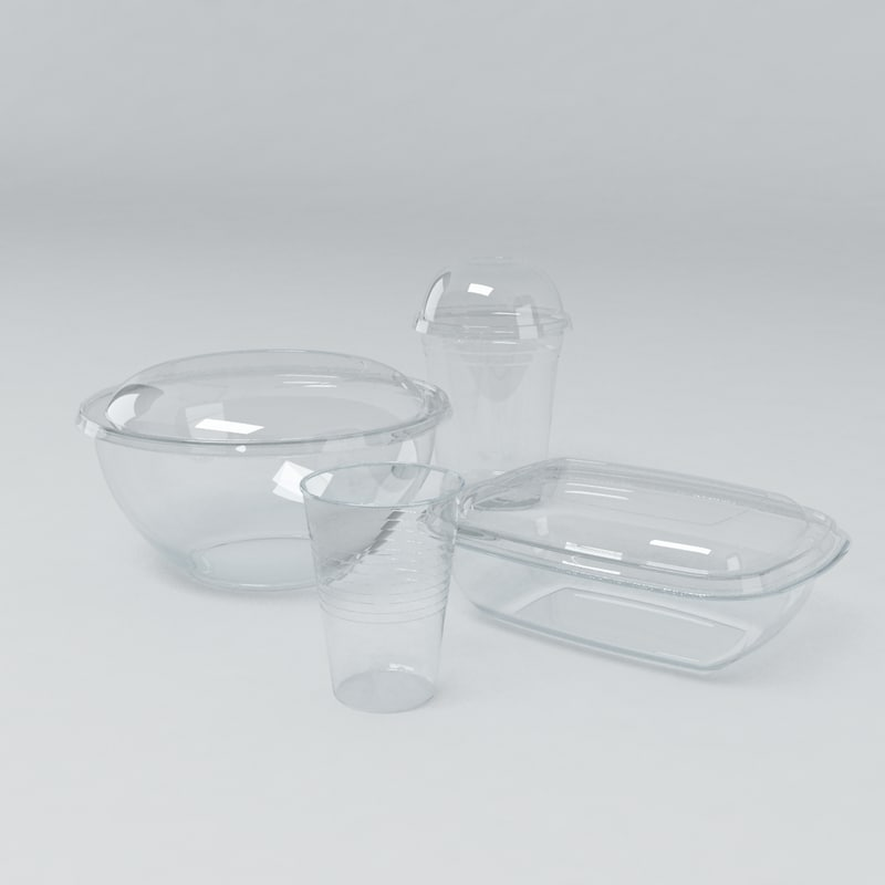 max disposable food drink containers