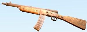 3d model german gewehr