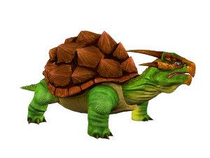 dragon turtles 3d model