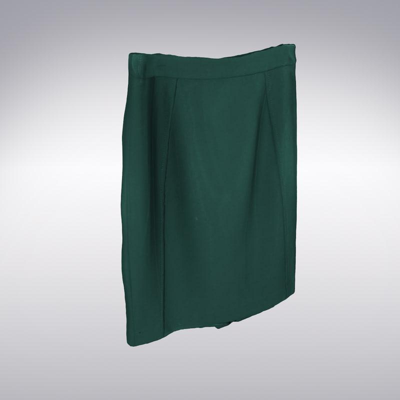 maya skirt scanning