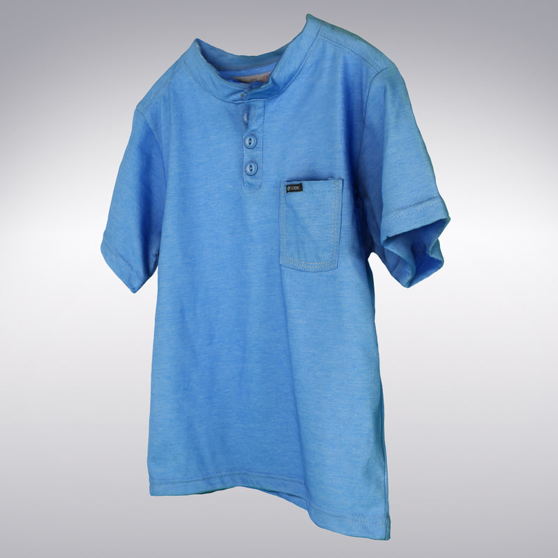 blue t-shirt scanning 3d max