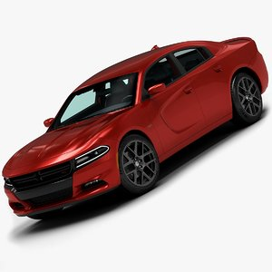 2015 dodge charger 3d max