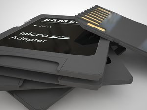 3ds max sd card adapter