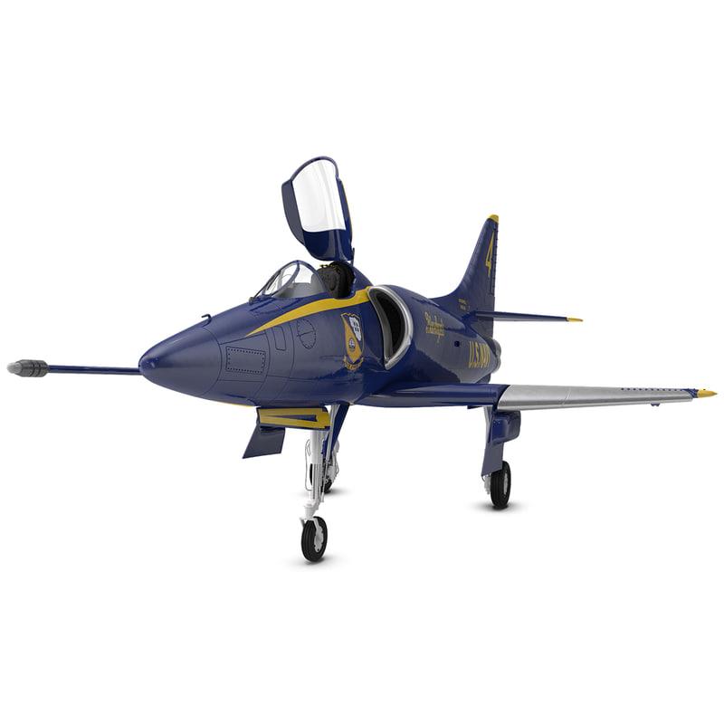 attack aircraft a-4 skyhawk max