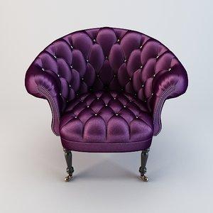 haute chair 3d model
