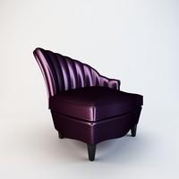 3dsmax arm dining chair