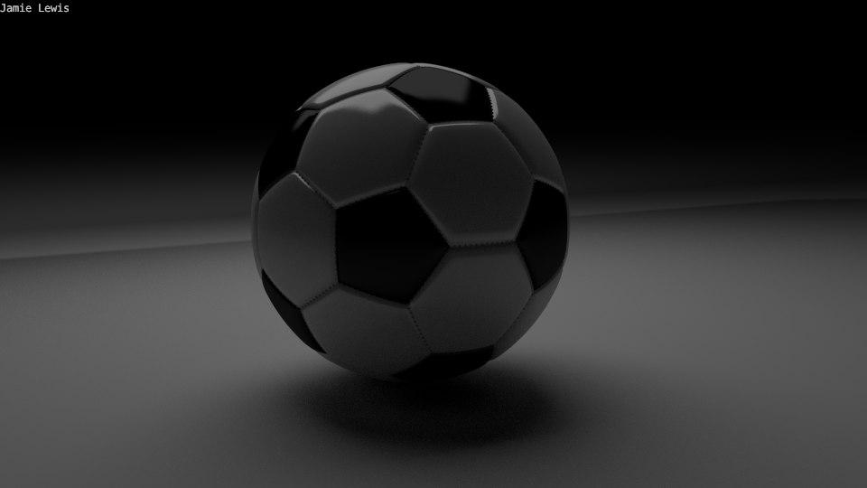football soccer ball 3d 3ds