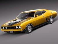 3d 1973 coupe falcon model