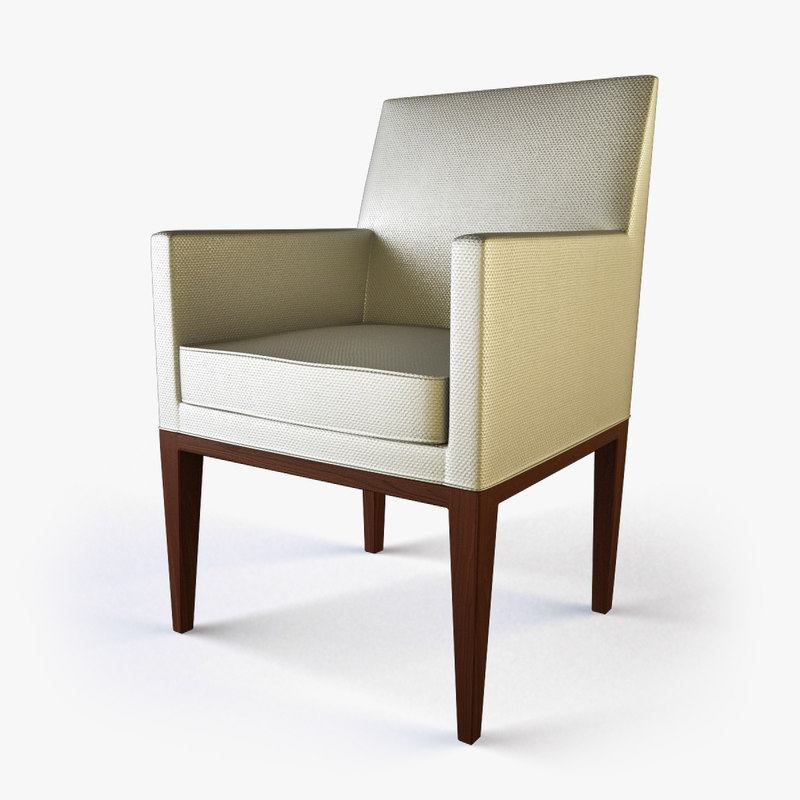 3ds max dining seat