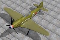 3dsmax yak-3 fighter