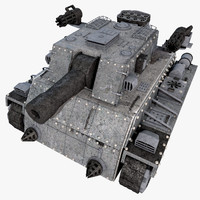 heavy armored tank 3d max