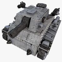 Heavy Armored Tank