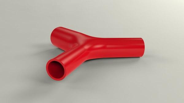 tubes combined 3d obj
