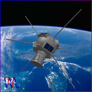 solar satellite vanguard 3d 3ds