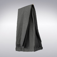 3ds max men s pants gray