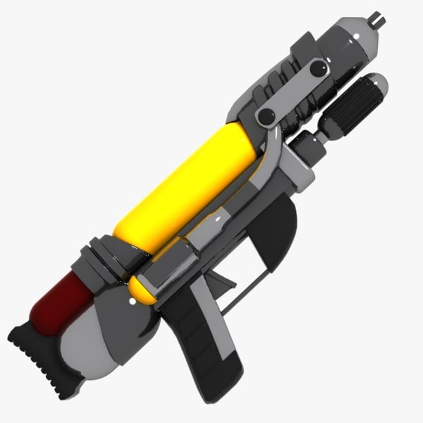 max cartoon water gun