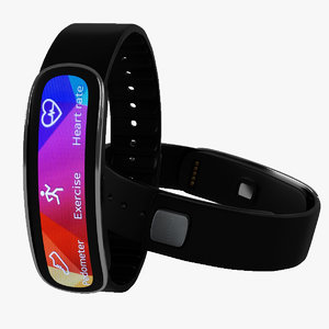 3d model of samsung gear fit