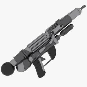 3d cartoon water gun