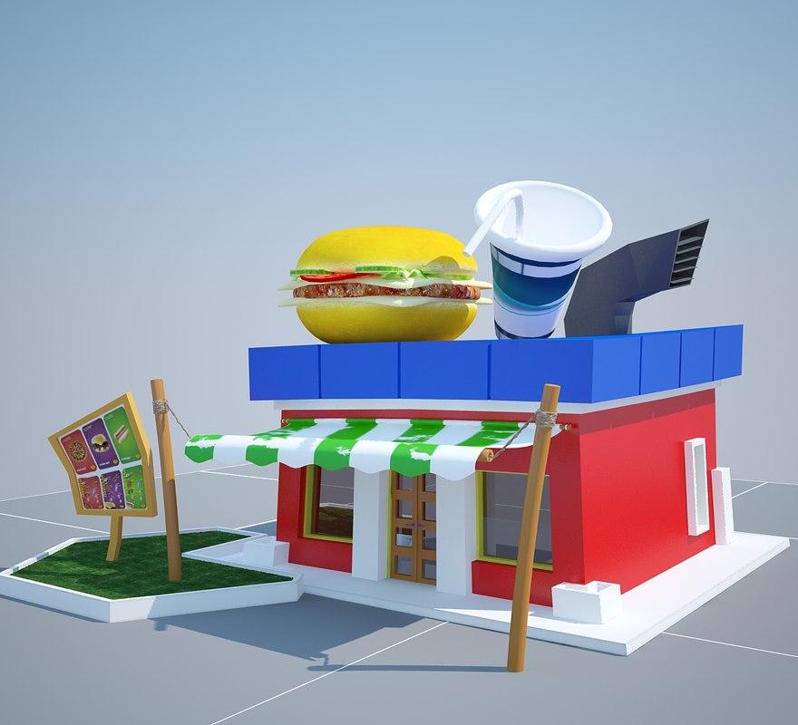 cartoon burger max