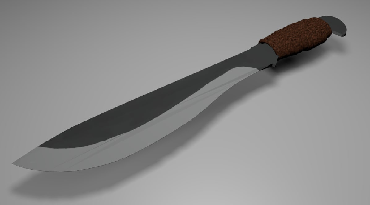 3d model of meele weapon