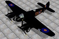 3ds max bristol beaufighter