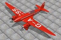 haviland comet racers 3d model