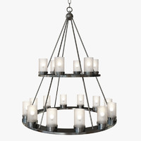 Currey & Company - Darden Chandelier Lighting