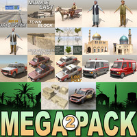 Arab City-Elements MEGA Collection 2