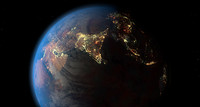 Earth day and night