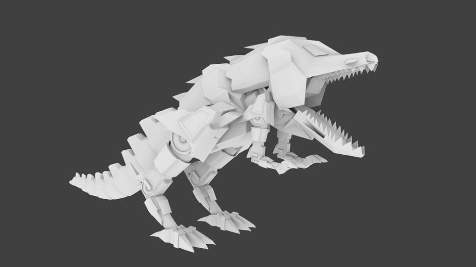maya mecha t-rex