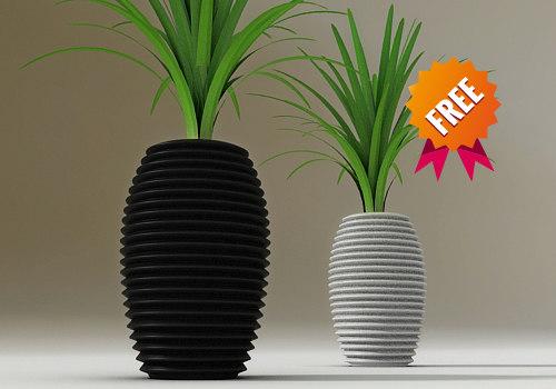 plant pot 3ds free