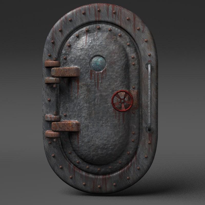 obj submarine door