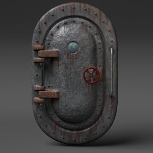 obj submarine door