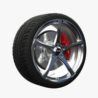 3d advanti denaro wheel model