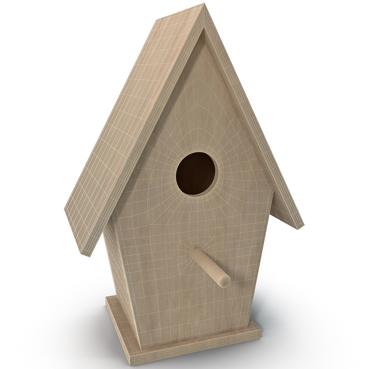 Model bird houses