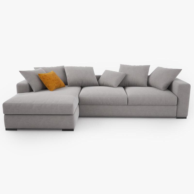 cenova sofa gk52 3d model