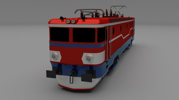 electric locomotive obj