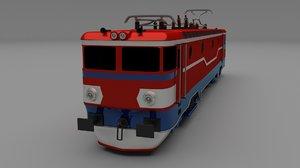 electric locomotive obj