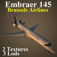 3d embraer dat model