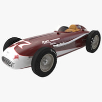 3d model of kurtis kraft 500c 1954