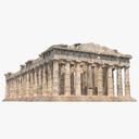 Greek Temple 3D models