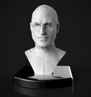 Steve Jobs bust