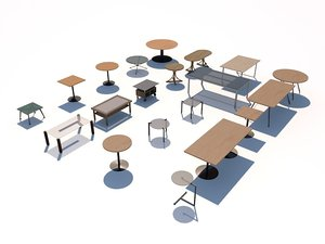 table pack 3d c4d