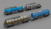 Train tanker collection