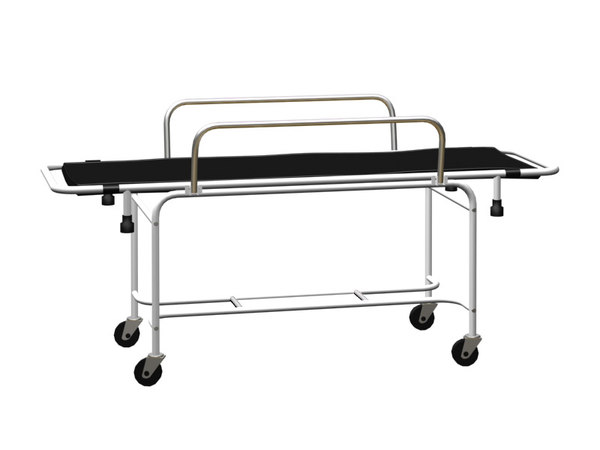 stretcher trolley 3d model