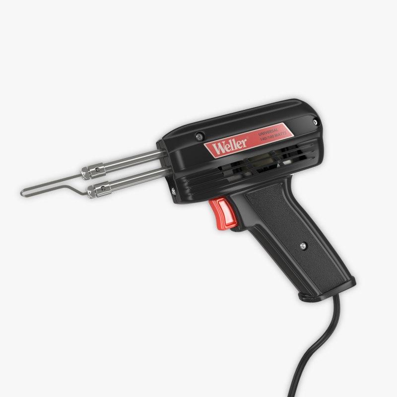 soldering gun 3d obj