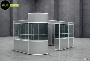 3ds max stand expo