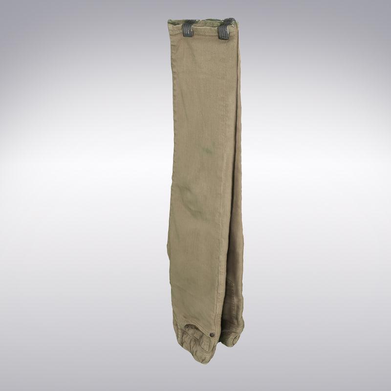 3ds max denim pants beige scanning